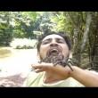 VIDEO YouTube: Arteval Duarte, serpente in bocca per...4