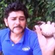 VIDEO YouTube: Arteval Duarte, serpente in bocca per...3