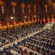 Nobel, cena di gala a Stoccolma: le principesse incantano