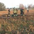 Pordenone, ultraleggero prende fuoco e cade: 2 morti