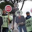 I sindacati della polizia e delle Forze dell'ordine hanno protestato sotto casa di Matteo Renzi, a Pontassieve, contro i tagli alla sicurezza 7