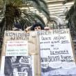 Salva banche, protesta risparmiatori vicino Bankitalia FOTO 8