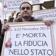 Salva banche, protesta risparmiatori vicino Bankitalia FOTO