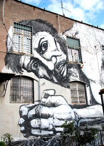Roma Ostiense Street art