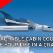 Cabina si stacca in caso di disastro aereo