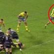 """Giocatore spintona arbitro: """"mi copri la visuale""""2"""