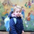 Kate Middleton: principino George, primo giorno d'asilo3