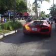 Lamborghini a fuoco parcheggiatore la stava provando6