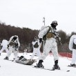 Marines e militari coreani sulla neve5