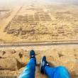 Scala Piramide di Giza a mani nude 7