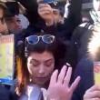 Unioni civili, flash-mob Meloni interviene polizia3