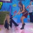 YOUTUBE Caterina Balivo incidente hot in diretta tv 02