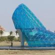 Taiwan, enorme chiesa a forma di scarpa di Cenerentola2