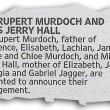 Rupert Murdoch annuncia fidanzamento con Jerry Hall FOTO