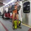 No Paints Day, in mutande nelle metro di mezzo mondo6