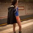 No Paints Day, in mutande nelle metro di mezzo mondo19