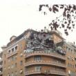 Roma, crollo palazzo Lungotevere: FOTO crepe su Google Maps3
