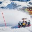 YOUTUBE Max Verstappen guida la Red Bull su neve con catene5