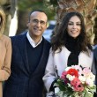 Sanremo: Madalina Ghenea, Virginia Raffaele Garko con Conti8