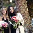 Sanremo: Madalina Ghenea, Virginia Raffaele Garko con Conti2