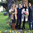 Sanremo: Madalina Ghenea, Virginia Raffaele Garko con Conti10