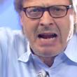 """Sgarbi abbandona Domenica Live: """"M5s non merita neanche..."""""""