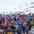 YOUTUBE Val d'Isere, Magaluf su neve: inglesi ubriachi e...3