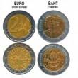 Monete thailandesi al posto dei 2 euro: nuova truffa 02