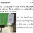 Arabia Saudita, Starbucks Riad: ingresso vietato donne3