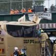 Bus si schianta sotto ponte ferroviario, 11 feriti3
