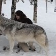 Kekoa, il lupo che bacia la sua amica Danielle5