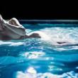 Khloe kardashian FOTO hot nuda in piscina a St Barths3