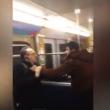 VIDEO YOUTUBE - Profughi in metro maltrattano anziani 6