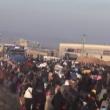 YOUTUBE Siria, esodo di massa da Aleppo FOTO 3