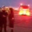 VIDEO YOUTUBE Fiamme su aereo: panico tra i passeggeri