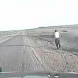 Vola fuori da abitacolo dopo incidente 3
