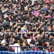 Cina, neve record: in 100mila bloccati in stazione FOTO5
