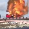 londra YOUTUBE Bus esplode su ponte a Londra. Panico, ma era film 03