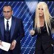 Virginia Raffaele-Donatella Versace: lifting a Sanremo FOTO 6