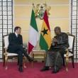 "Eni ""presenza chiave in Ghana"". Incontro Renzi-Mahama"