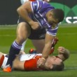 YOUTUBE Rugby: Ben Flower, pugni in faccia all'avversario 02