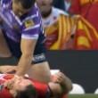 YOUTUBE Rugby: Ben Flower, pugni in faccia all'avversario