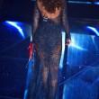 """Sanremo, Madalina Ghenea e il """"pigiama"""" nude look4"""