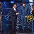 """Sanremo, Madalina Ghenea e il """"pigiama"""" nude look3"""