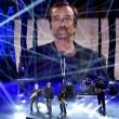 """Sanremo, Lucio Dalla """"canta"""" con gli Stadio7"""