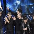 """Sanremo, Lucio Dalla """"canta"""" con gli Stadio15"""