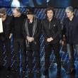 """Sanremo, Lucio Dalla """"canta"""" con gli Stadio VIDEO FOTO"""
