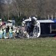 Olanda, Dalfsen: treno deraglia a passaggio a livello FOTO2