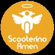 """Scooterino Amen"""" prete arriva a casa e benedice2"""