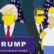 Donald Trump presidente, Simpson lo avevano previsto5